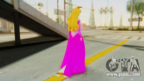 Sleep Beauty Aurora Pink for GTA San Andreas third screenshot