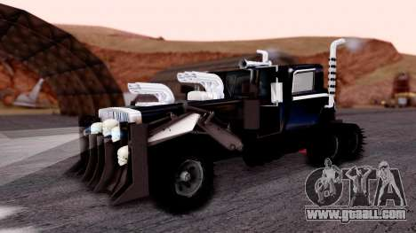 Mad Max The War Rig Bilge Tuning for GTA San Andreas
