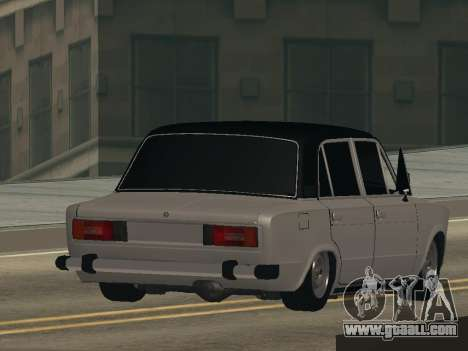 VAZ 2106 BUNKER for GTA San Andreas left view