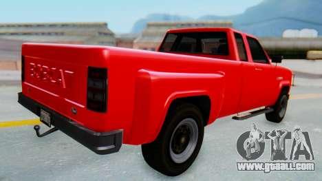 GTA 5 Vapid Bobcat XL for GTA San Andreas left view