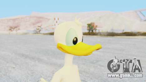 Kingdom Hearts 1 Donald Duck No Clothes for GTA San Andreas