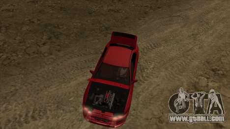 Mitsubishi Galant VR-4 (2JZ-GTE) for GTA San Andreas back view
