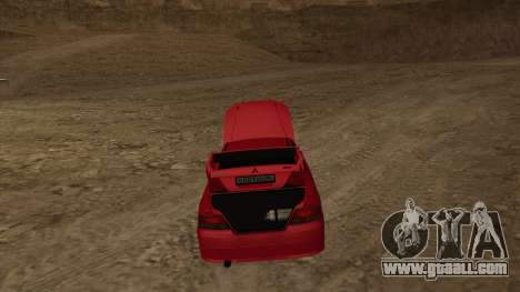 Mitsubishi Galant VR-4 (2JZ-GTE) for GTA San Andreas right view
