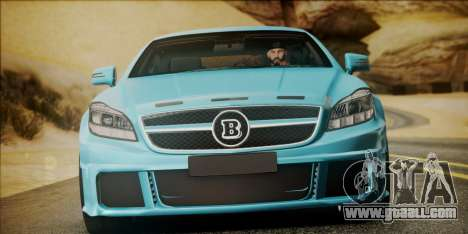 Mercedes-Benz CLS 63 BRABUS for GTA San Andreas right view