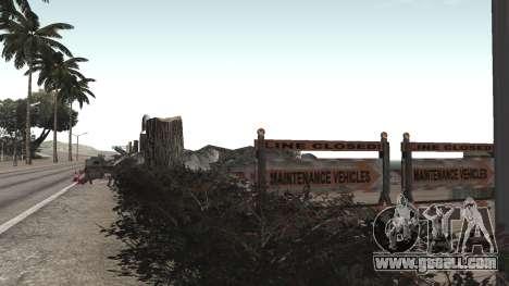 Road repair Los Santos - Las Venturas for GTA San Andreas second screenshot