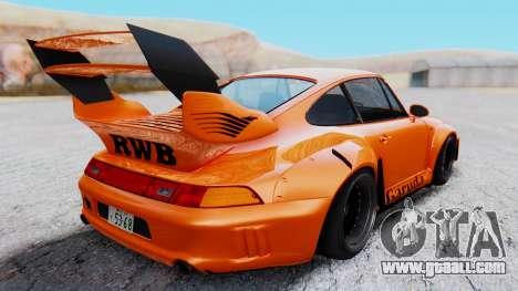 Porsche 993 GT2 RWB GARUDA for GTA San Andreas right view