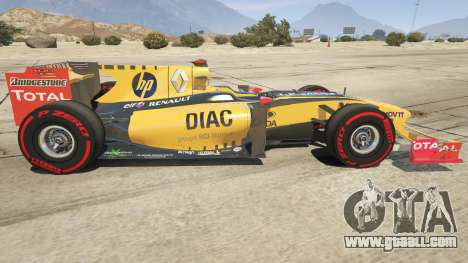 GTA 5 Renault F1 left side view