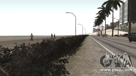 Road repair Los Santos - Las Venturas for GTA San Andreas
