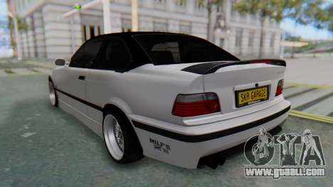 BMW 320i E36 MPower for GTA San Andreas back left view