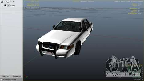 FBI Ford CVPI for GTA 5