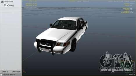 GTA 5 FBI Ford CVPI right side view