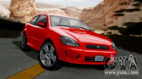 GTA 5 Declasse Premier Coupe IVF for GTA San Andreas