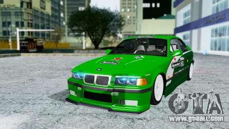 BMW M3 Coupe E36 (320i) 1997 for GTA San Andreas interior