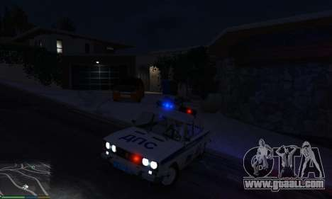 GTA 5 VAZ 2106 Police right side view