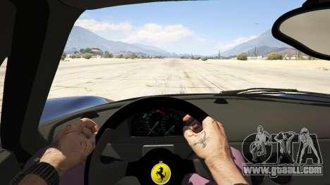 GTA 5 Ferrari F50 Autovista back view