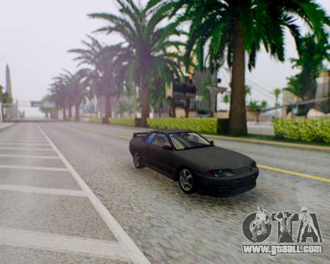 Nissan Skyline R32 GTR for GTA San Andreas back view