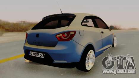 Seat Ibiza for GTA San Andreas left view