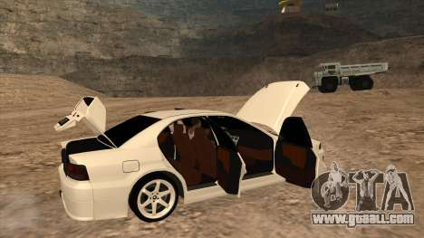 Mitsubishi Galant VR-4 (2JZ-GTE) for GTA San Andreas back left view