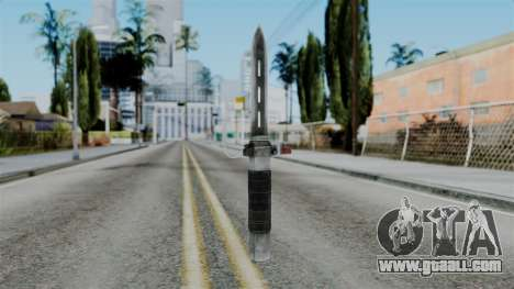 CoD Black Ops 2 - Balistic Knife for GTA San Andreas