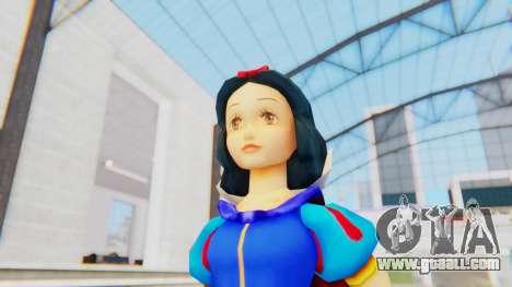 Snow White for GTA San Andreas