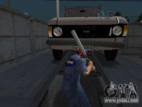 Skin worker IZH auto Repair for GTA San Andreas third screenshot