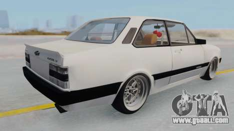 Chevrolet Chevette Stance for GTA San Andreas back left view