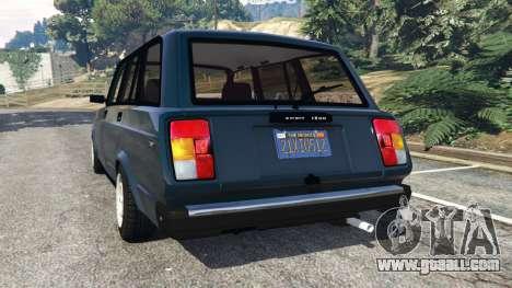 GTA 5 VAZ-2104 [Beta] rear left side view