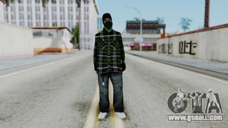 New Fam2 for GTA San Andreas