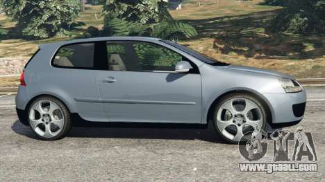 GTA 5 Volkswagen Golf Mk5 GTI 2006 v1.0 left side view