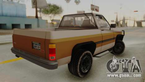 GTA 4 Declasse Rancher IVF for GTA San Andreas left view