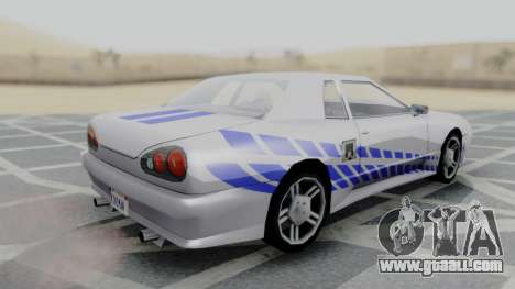 Elegy 2F2F Skyline PJ for GTA San Andreas left view