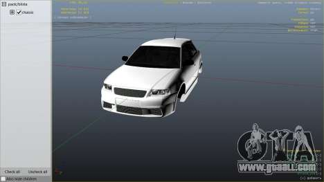 GTA 5 Audi A3 1999 Sport Edition right side view