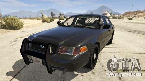 FBI Ford CVPI for GTA 5