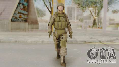 US Army Urban Soldier from Alpha Protocol for GTA San Andreas second screenshot