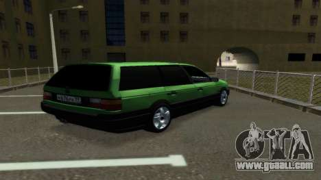Volkswagen Passat B3 Variant for GTA San Andreas back left view