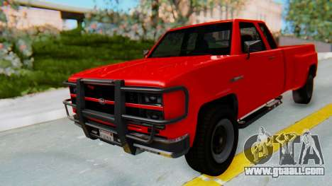 GTA 5 Vapid Bobcat XL for GTA San Andreas right view