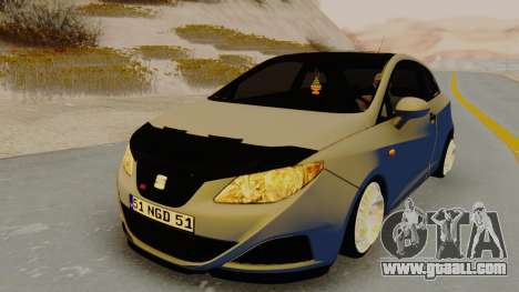 Seat Ibiza for GTA San Andreas right view