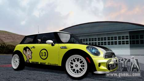 Mini John Cooper Works Mr.Bean for GTA San Andreas