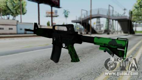 M16 A2 Carbine M727 v4 for GTA San Andreas second screenshot
