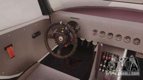GTA 5 Bravado Banshee 900R Carbon for GTA San Andreas back view