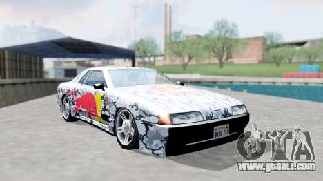 Elegy 4 Drift Drivers V2.0 for GTA San Andreas back view