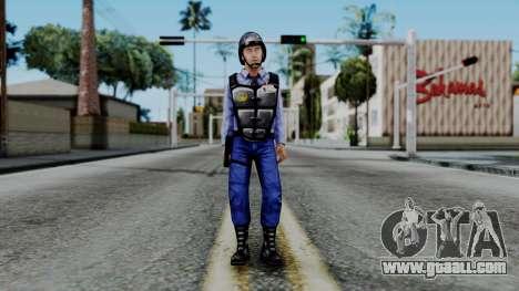 Barney Calhoun from Half Life Blue Shift for GTA San Andreas second screenshot