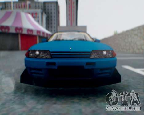 Nissan Skyline R32 GTR for GTA San Andreas wheels