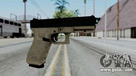 Glock 18 Sand Frame for GTA San Andreas