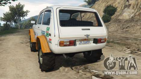 GTA 5 VAZ-2121 [off-road] rear left side view