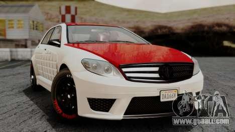GTA 5 Benefactor Schafter V12 Arm IVF for GTA San Andreas