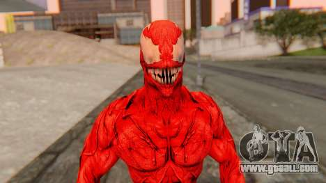 Marvel Heroes - Carnage for GTA San Andreas