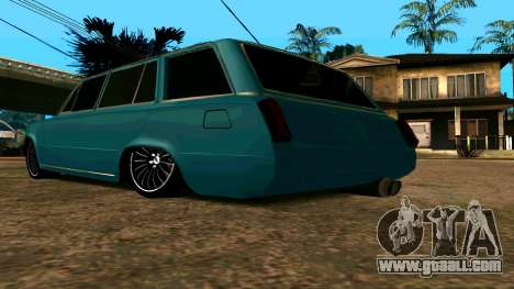 VAZ 2102 БПАN for GTA San Andreas back view