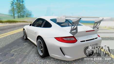 Porsche 911 GT3 Cup for GTA San Andreas back left view