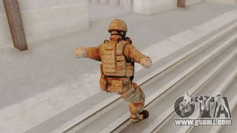 US Army Multicam Soldier Gas Mask from Alpha Pro for GTA San Andreas
